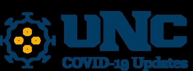 UNC Covid-19 updates logo