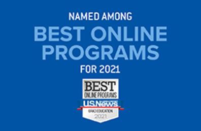 U.S. News and World report best programs logo