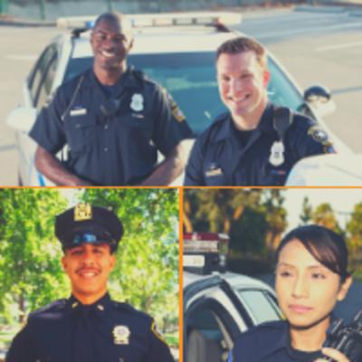 nice looking cops