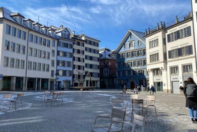 Switzerland plaza