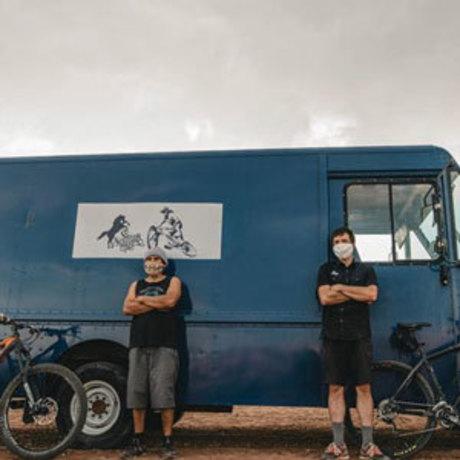 Donated mountain bikes