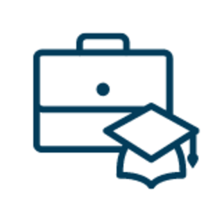 Briefcase and Diploma icon