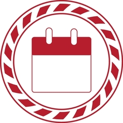 Calendar Symbol for One Stop office