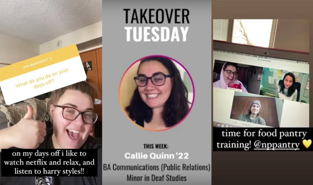 Tuesday Takeover, Feb. 16, 2021: Featuring Callie Quinn '22
