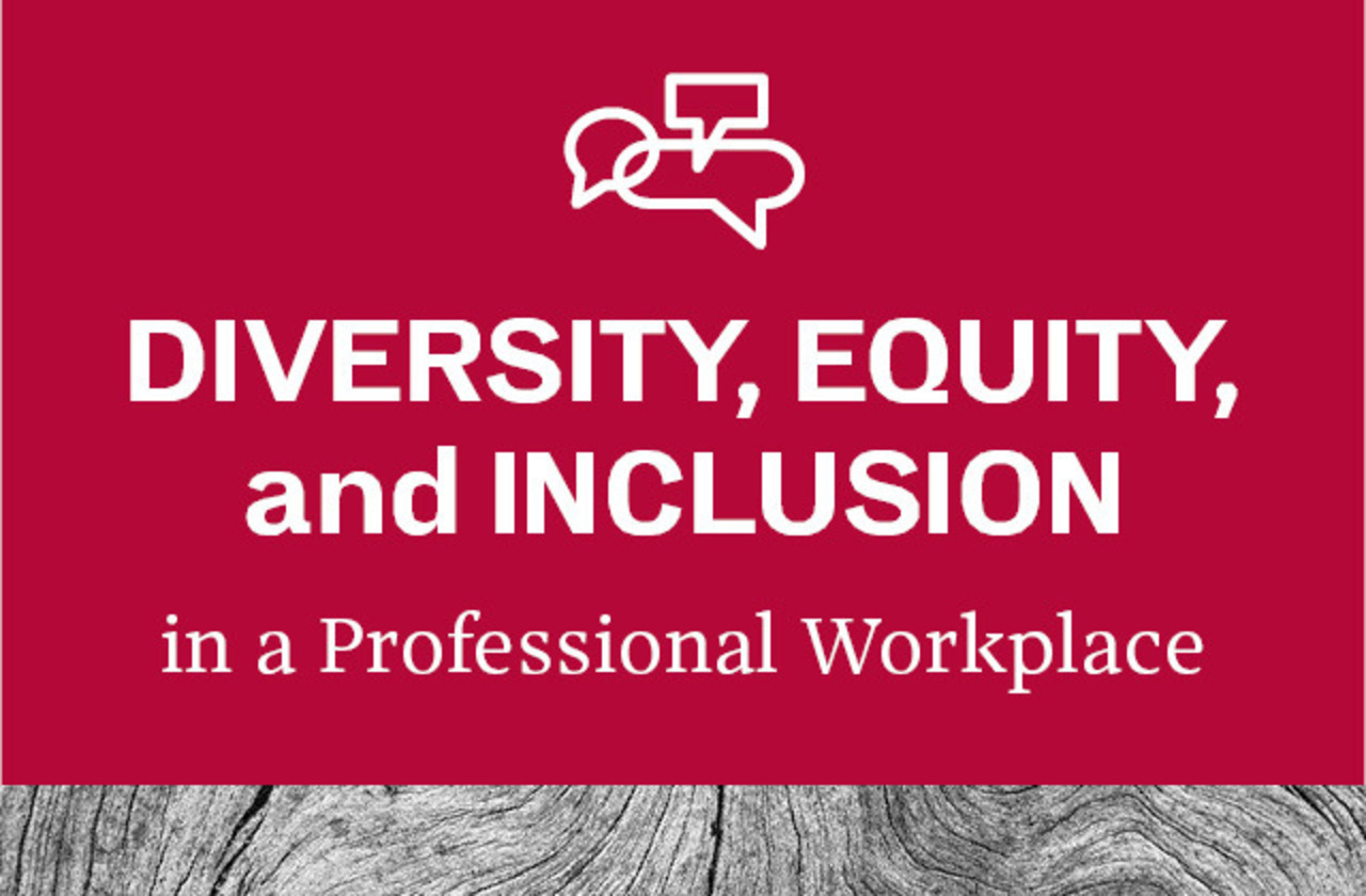 Graphic for Diversity, Equity, and Inclusion in the Professional Workplace