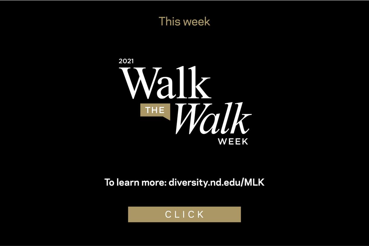 This week is 2021 Walk the Walk Week. Click for programming.