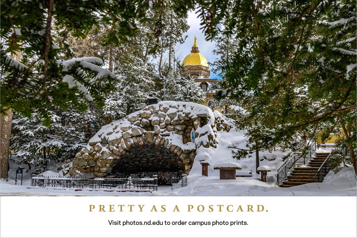 Visit photos.nd.edu to order campus photo prints.