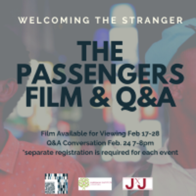Welcoming the Tranger: The Passengers Film & Q&A movie poster