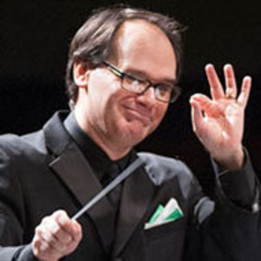 Jason Worzbyt conducting