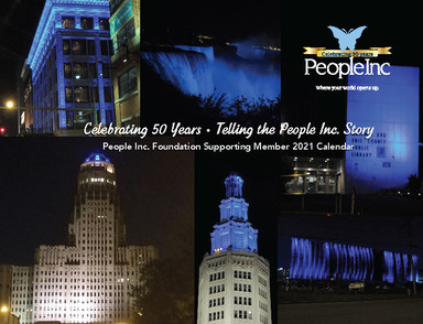 Cover of People Inc. Foundation 2021 calendar.