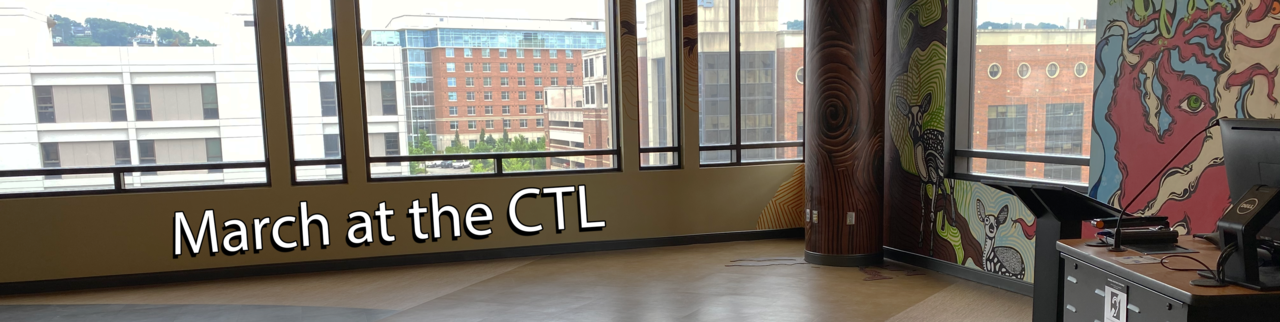 Upcoming Events at the CTL