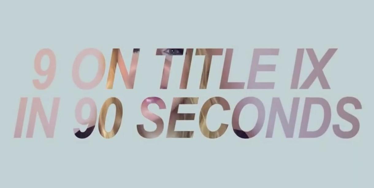9 on Title IX - YouTube