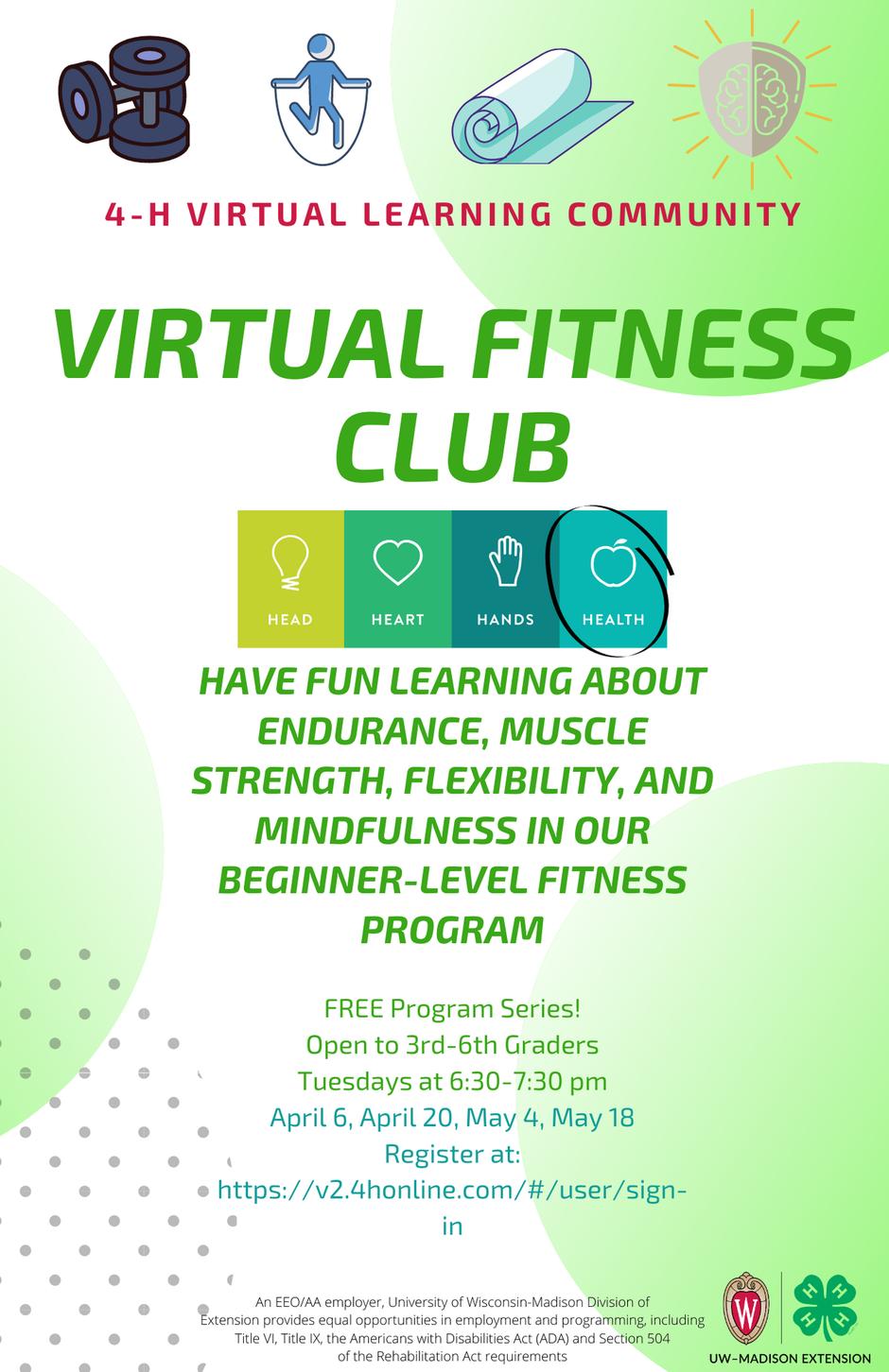 Virtual Fitness Club