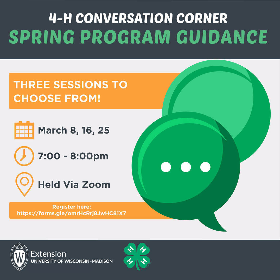 Conversation Corner: Spring Program Guidance
