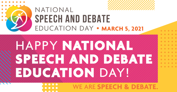 National Speech and Debate Education Day - March 5, 2021