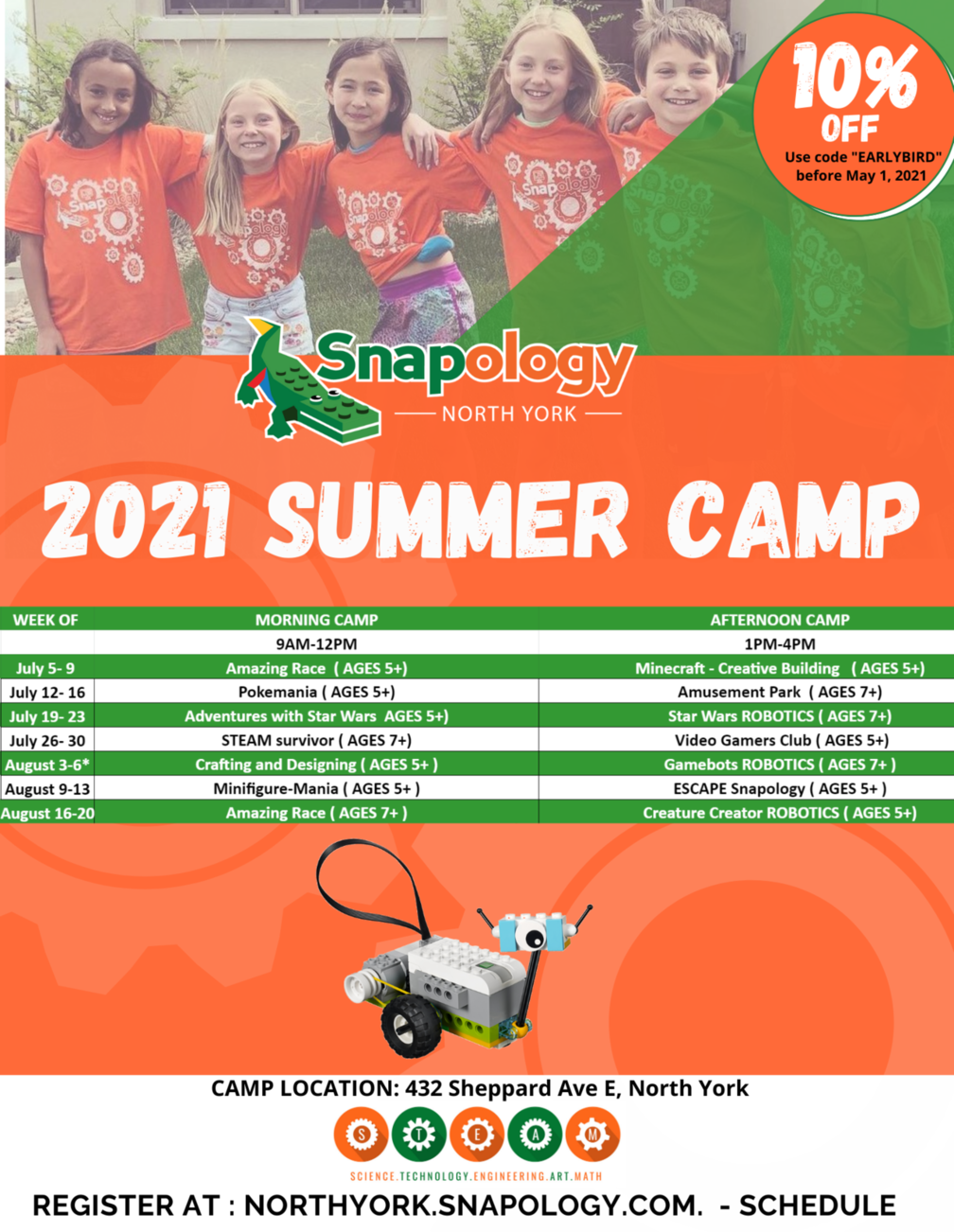 2021 SUMMER camp THORNHILL