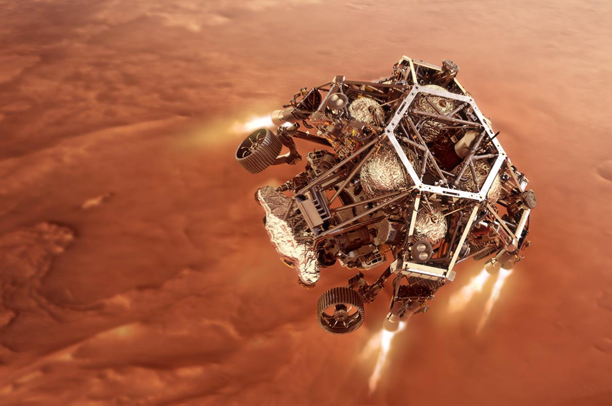 Mars Rover illustration by NASA
