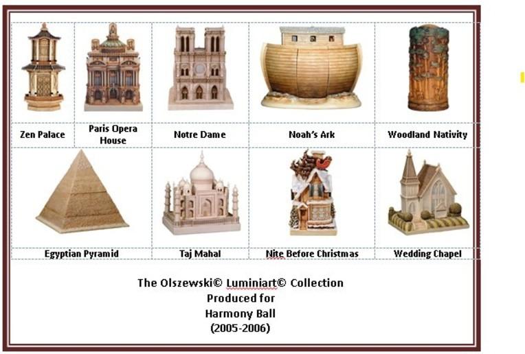 Olszewski Luminiart Collection