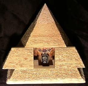 The Egyptian Pyramid by Olszewski