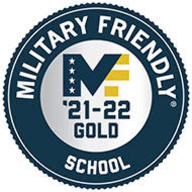 Military Friendly School gold badge