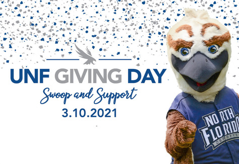 UNF giving day swoop and support 3.10.2021