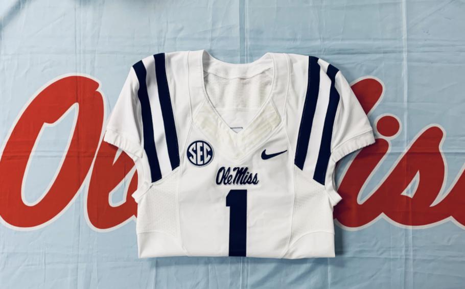 Ole Miss Baseball jersey #1