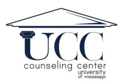 UCC Counseling Center University of Mississippi logo