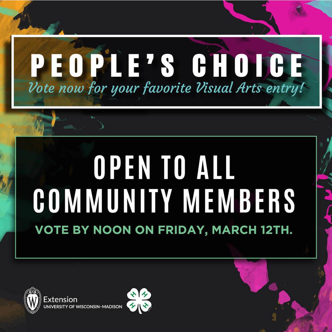 People's Choice Award Voting