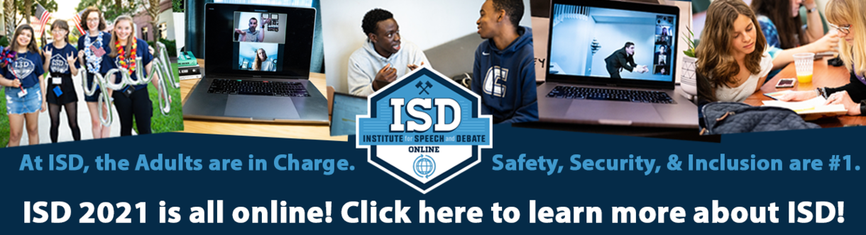 At ISD, The Adults are in Charge. Safety, Security, & Inclusion are #1. ISD 2021 is all online. Click here to learn more about ISD!