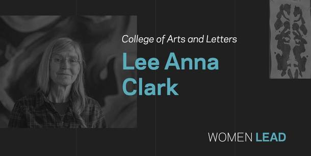 Lee Anna Clark, College of Arts and Letters