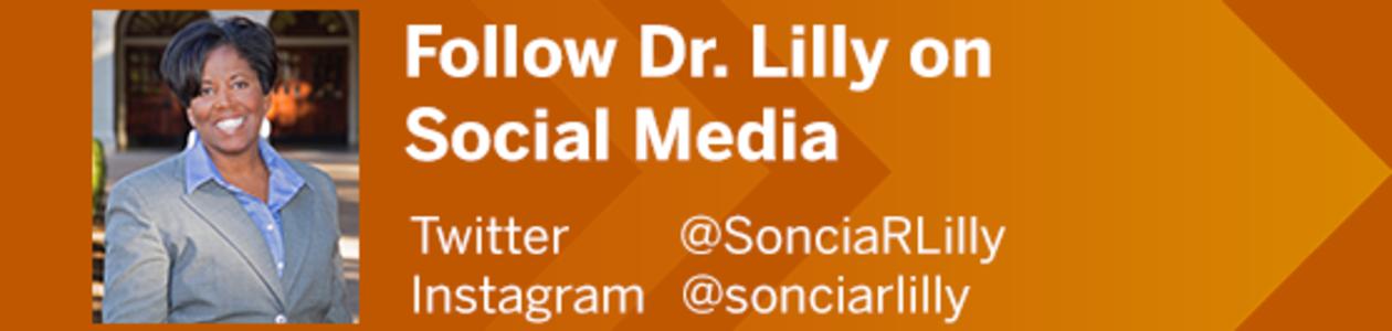 Follow Dr. Lilly on Social Media