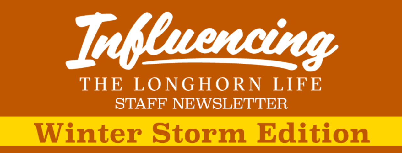 Influencing the Longhorn Life Winter Storm Edition