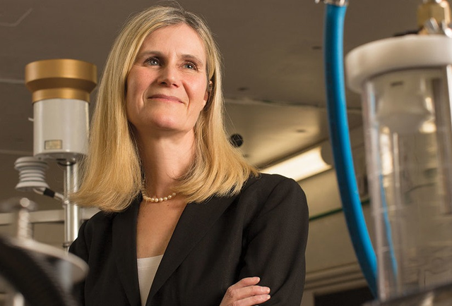 Trish Culligan, the new dean of the College of Engineering