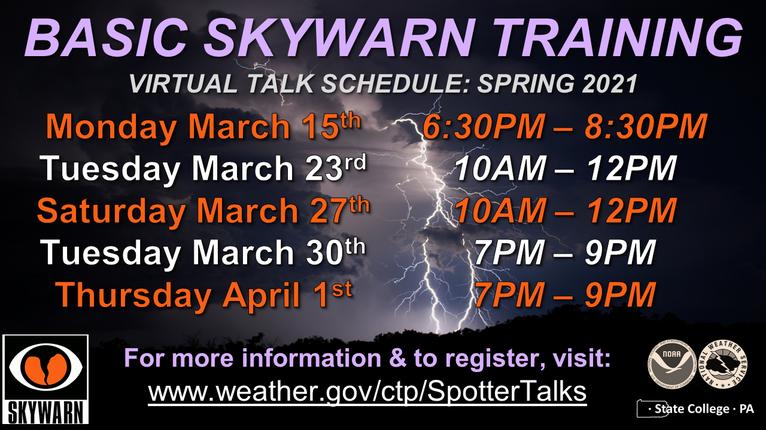 Basic SkyWarn training