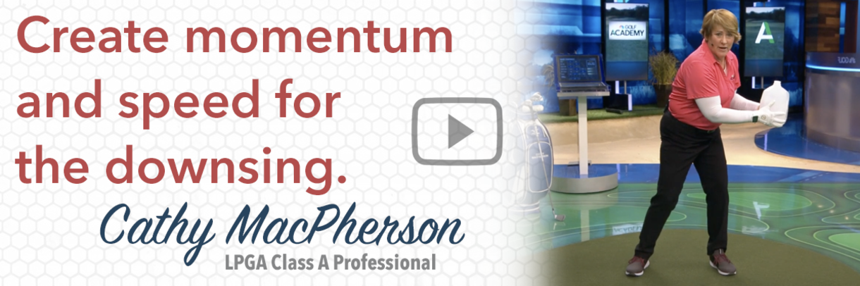 Golf Tip: Create Momentum and Speed