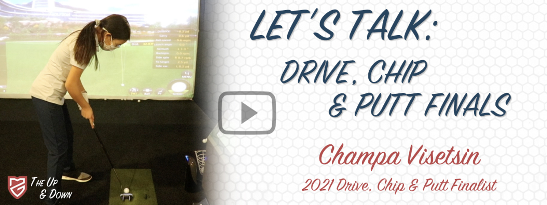 Drive, Chip & Putt Finals: Champa Visetsin