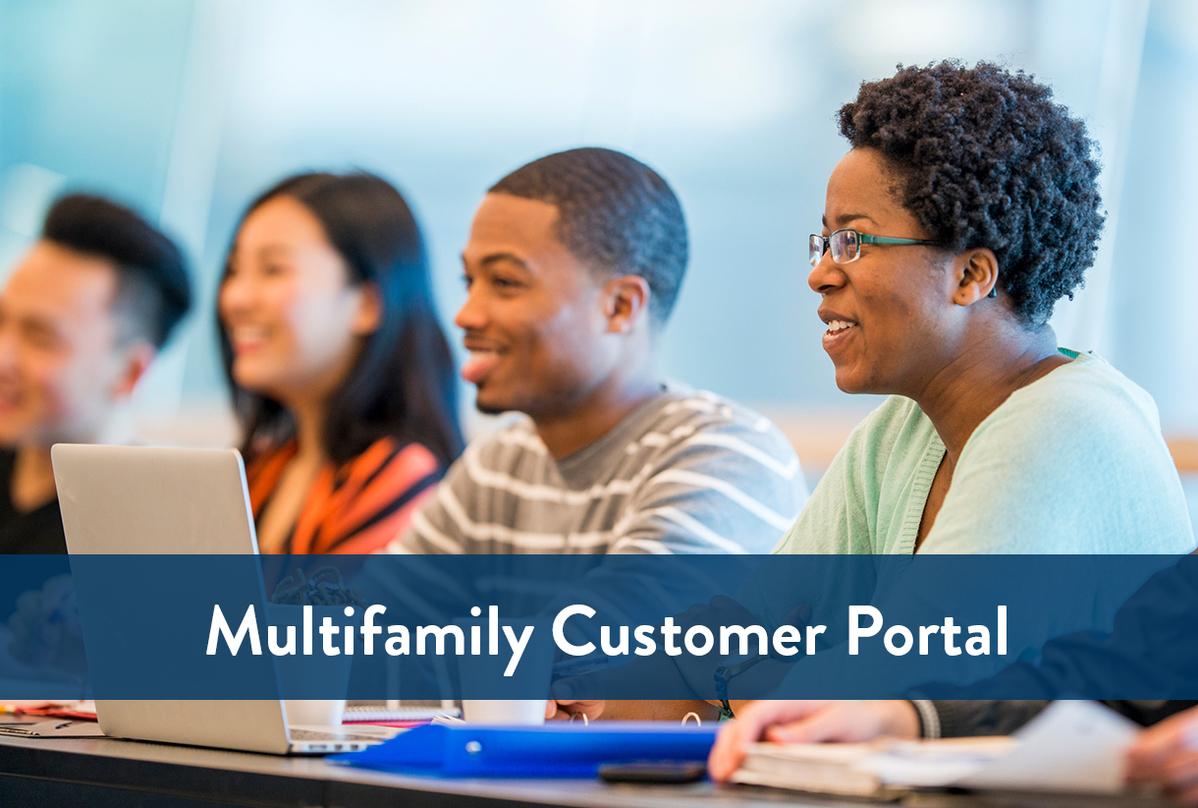 Multifamily Customer Portal logo