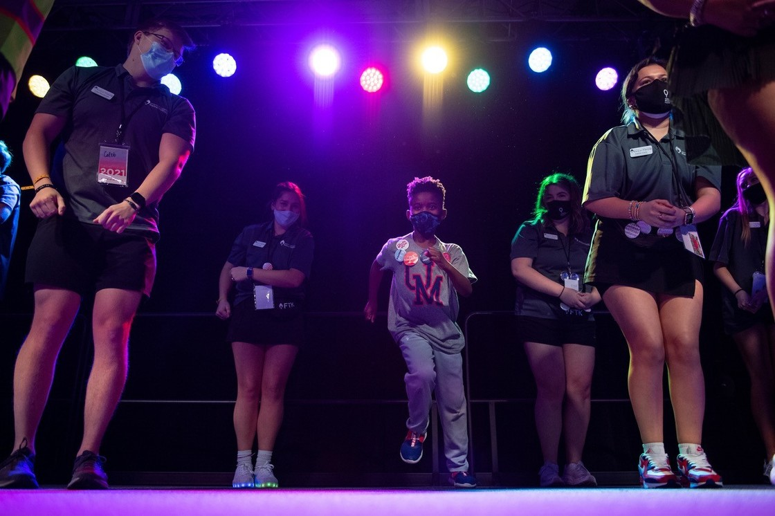 Rebel Thon even with people dancing on stage