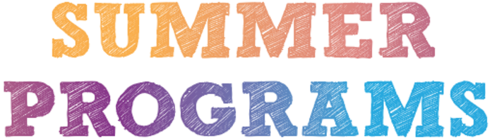 Summer Program Registration