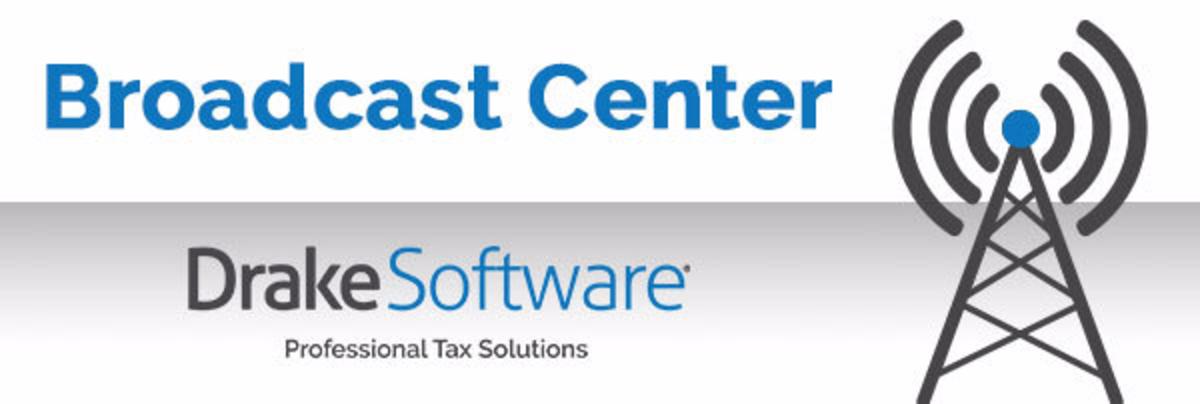 Drake Software Broadcast Center