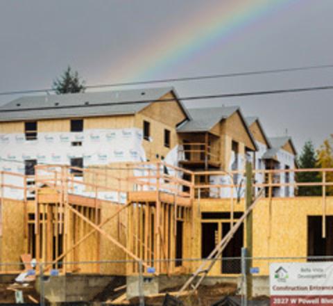 Building homes in Gresham.