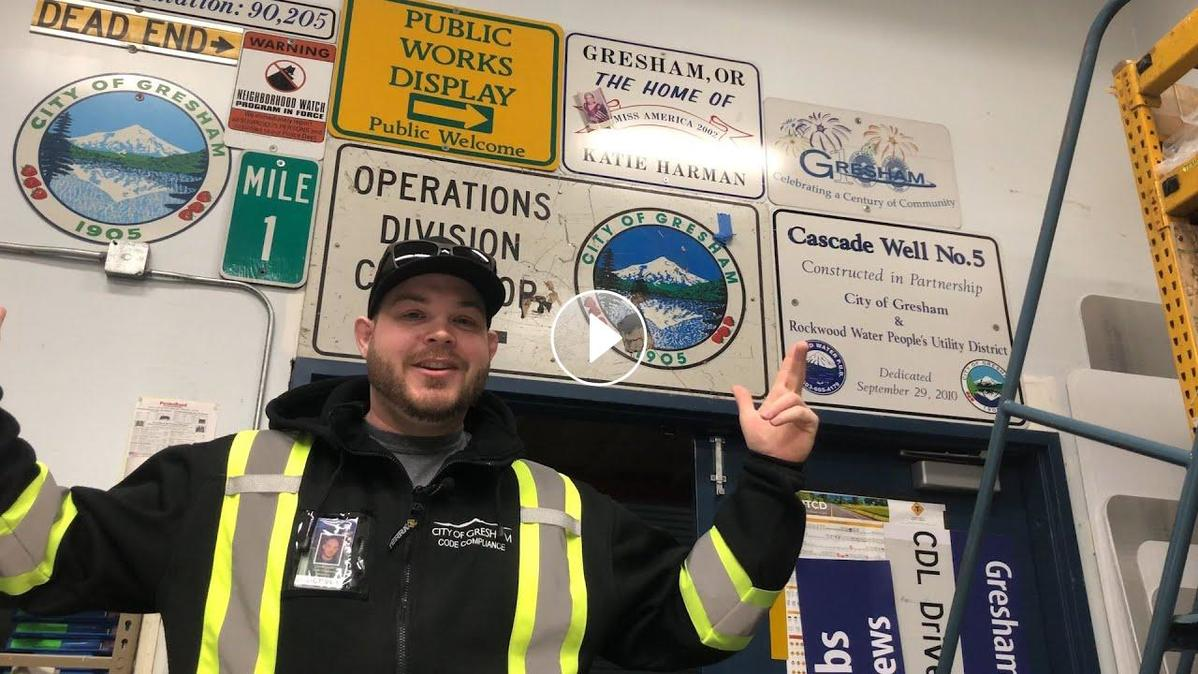 City public works staff share their career paths.