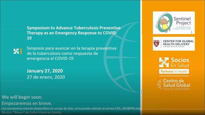 Symposium on TB preventive therapy