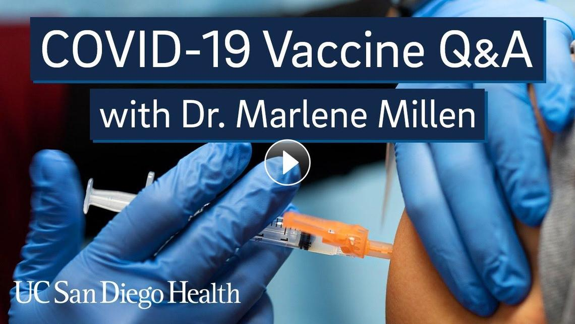 Q&A video on vaccines with Dr. Marlene Millen