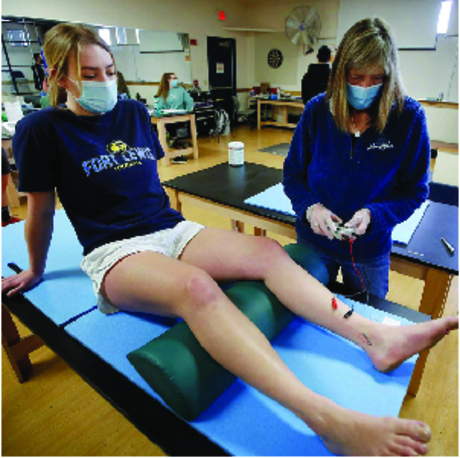 FLC student participates in dry needling research