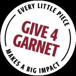 Give 4 Garnet Stamp