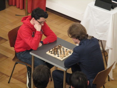 The chess masters battle it out in the final round