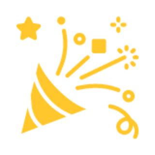 party celebration graphic