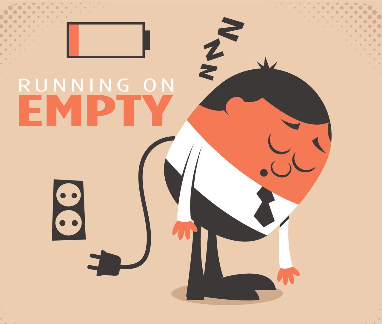 Man Running on Empty