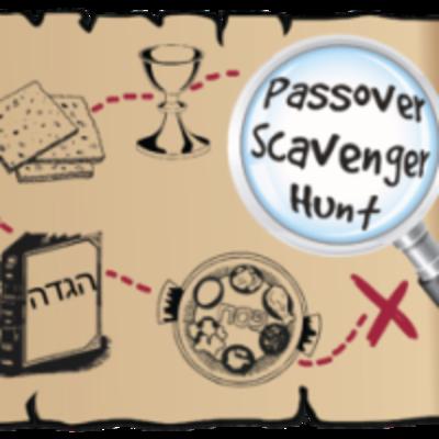 Passover Scavenger Hunt Map